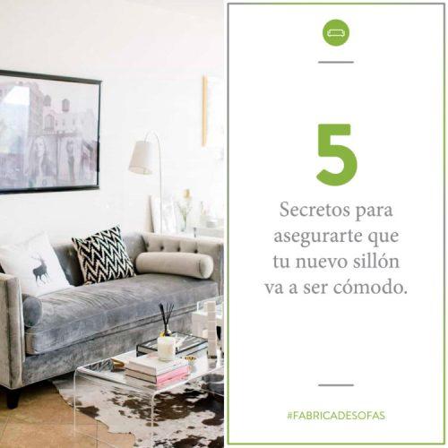 5 secretos para comprar un sillón cómodo