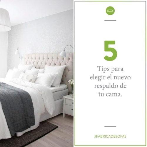 5 Tips para elegir el respaldo de cama
