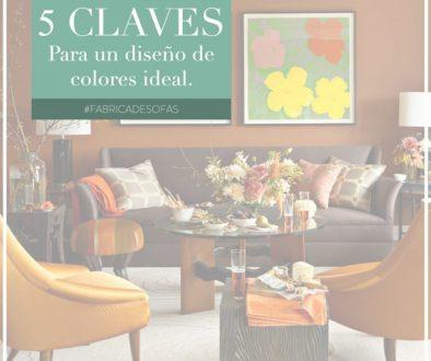 Diseño de colores para living