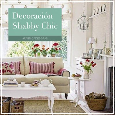Shabby Chic decoración