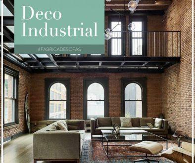 Living Industrial con sillón